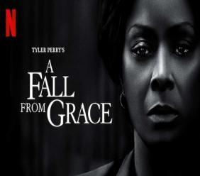 "Le cover du film ""A fall from Grace"""