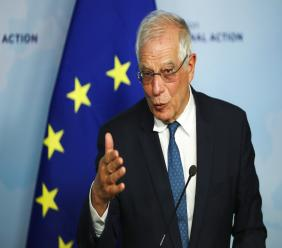 European Union foreign policy chief Josep Borrell (AP Photo)