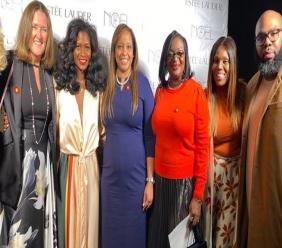 Team Grenada at the Fe Noel Fashion Show