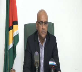 Opposition Leader Dr Bharrat Jagdeo.
