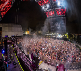 Ultra Music Festival attracts thousands from around the world.