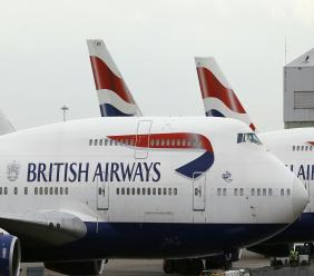 File photo of British Airways aircraft.