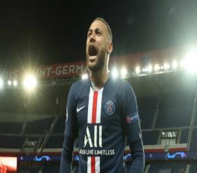 Paris Saint-Germain forward Neymar.