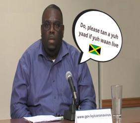 Minister of Health, the Honourable Dwayne Seymour