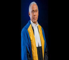 CCJ President Justice Adrian Saunders.