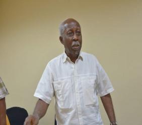 Former head of the Public Service, Reginald Dumas