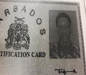 Photo supplied by the Royal Barbados Police Force.