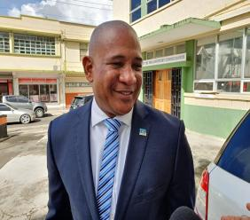 First Deputy Leader of the Saint Lucia Labor Party, Dr Ernest Hilaire