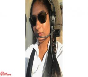 Safia Hosein, Helicopter Captain
