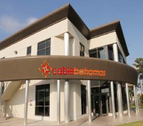 Cable Bahamas' office in Freeport, Bahamas. Photo via cablebahamas.com
