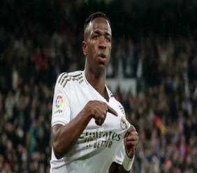 Real Madrid forward Vinicius Junior.