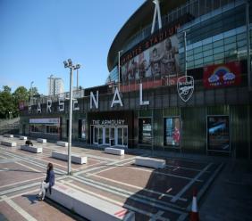L'Emirates Stadium, le stade d'Arsenal le 19 mai 2020