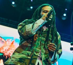 Jamaican reggae and hip hop artiste Ky-Mani Marley.