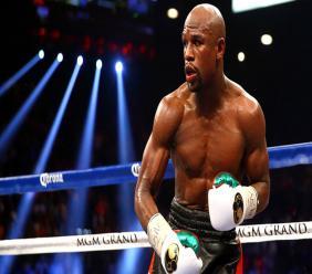 Unbeaten American boxing legend Floyd Mayweather Jr.