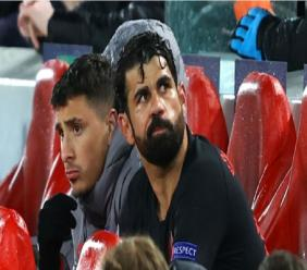 Atletico Madrid striker Diego Costa.