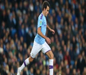 Manchester City defender Eric Garcia.