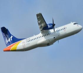 LIAT in flight