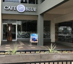 Café Blue's new location is 144 Constant Spring Road. See photos from the soft launch below. (Photos: Kadeem Rodgers)
