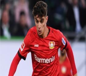 Bayer Leverkusen midfielder Kai Havertz.