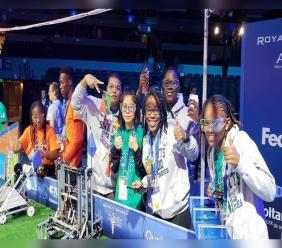 Photo Courtesy: St Kitts-Nevis Robotics Team