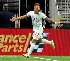 Inter star Lautaro Martinez.