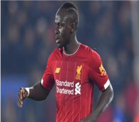 Liverpool forward Sadio Mane.