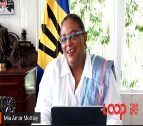 Prime Minister Mia Amor Mottley says Barbadians deserve 'some form of respite'