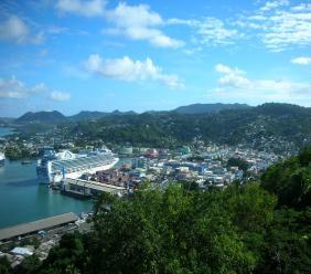 Photo: Castries St Lucia