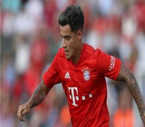 Bayern Munich attacking midfielder Phillipe Coutinho.