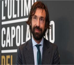 Former Juventus midfielder Andrea Pirlo.