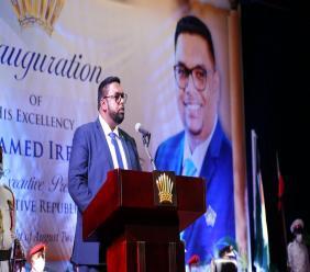 President Dr Mohammed Irfaan Ali. Photo: Office of the President Guyana.