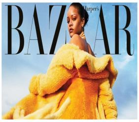 Rihanna on Harper's Bazaar US cover shot by Sorrenti (Source: IG)