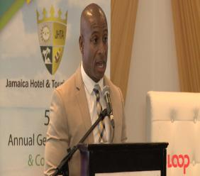 President of the Jamaica Hotel and Tourist Association (JHTA), Omar Robinson.