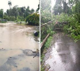 Photos via the Tobago Emergency Management Agency (TEMA).