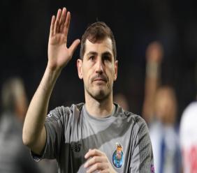Foot: Iker Casillas officialise sa retraite. Photo: https://www.mosaiquefm.net/fr/football/777193/foot-iker-casillas-officialise-sa-retraite