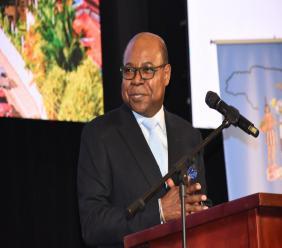 Jamaica's Minister of Tourism, Edmund Bartlett.