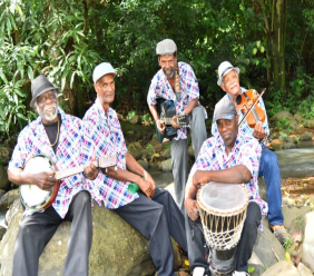 Manmay Lakay band, photo via Events Saint Lucia Facebook page