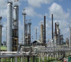 Photo: Petrotrin Pointe-a-Pierre refinery.