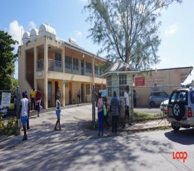 Reynold Weekes Primary School on first day of School