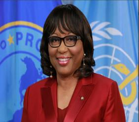 PAHO Director Carissa F. Etienne
