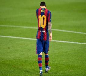 L'Argentin Lionel Messi lors du 55e Trophée Joan Gamper entre son club de Barcelone et Elche le 19 septembre 2020 au Camp Nou