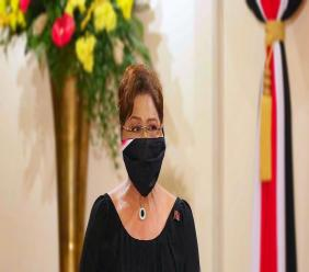 Photo: Opposition leader Kamla Persad Bissessar. Credit: Office of the President of Trinidad and Tobago.