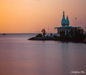 Temple by the Sea. Photo by Christopher  Attai of @csaphotographytt on Instagram