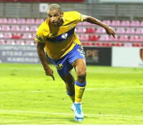 Barbados senior men's forward Nick Blackman