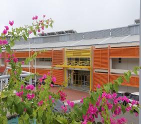 Owen King EU Hospital in St Lucia (FILE)