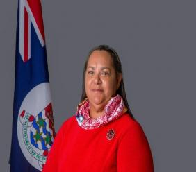 Minister of Education, Youth, Sports, Agriculture & Lands Hon.Juliana O'Connor Connolly