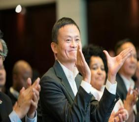 Jack Ma, cofondateur du géant chinois Alibaba, le 7 août 2018 à Cape Town afp.com - RODGER BOSCH