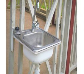 One of the many newly installed hand wash sinks at the St James Infirmary to help residents and staff members bolster efforts to combat the COVID-19 pandemic. (Photo: Contributed via JIS)