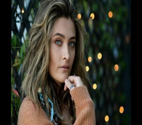 """Paris Jackson poses for a portrait in Beverly Hills, Calif., on Oct. 27, 2020, to promote her debut solo album """"Wilted,"""" releasing on November 13. Her new single """"Let Down"""" drops Friday, Oct. 30. (AP Photo/Chris Pizzello)"""