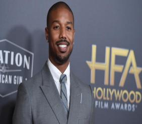 Michael B. Jordan arrives at the Hollywood Film Awards on November 4, 2018, in Beverly Hills, California (Photo by Jordan Strauss/Invision/AP, File)
